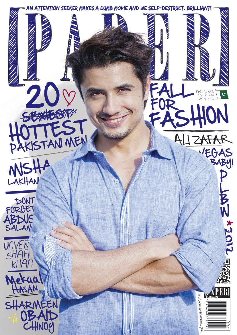 Paper Issue 7, Featuring Ali Zafar COMING SOON!