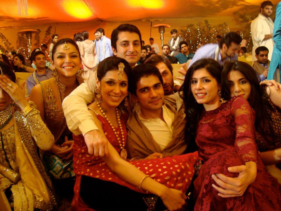 Amina, Momina, Shahnawaz, Magul and Raesa