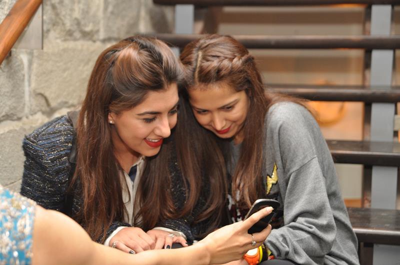 Meher Tareen and Samina Khan