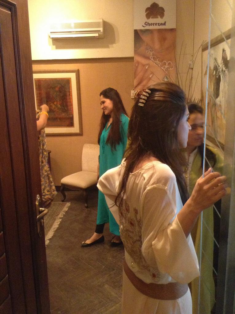 Sania Maskatiya and Maheen Karim