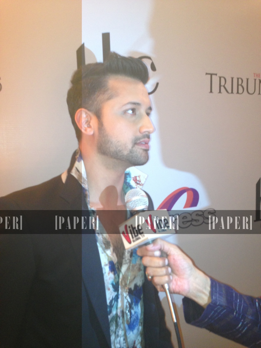 Atif Aslam ( who contributed to the soundtrack)