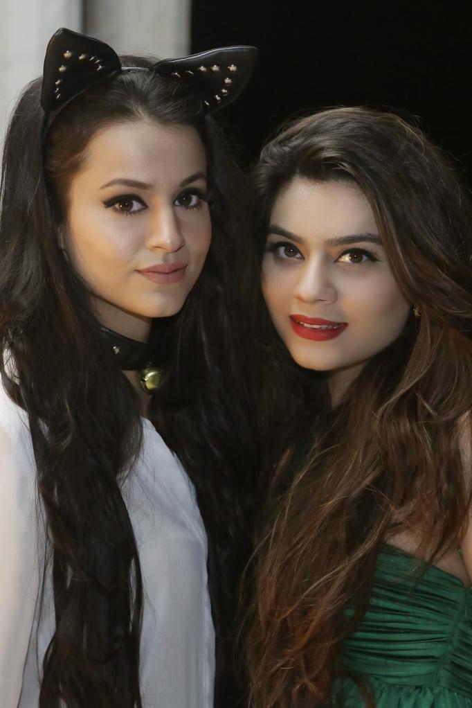 Hira Hashmi and Mehryn Zafar