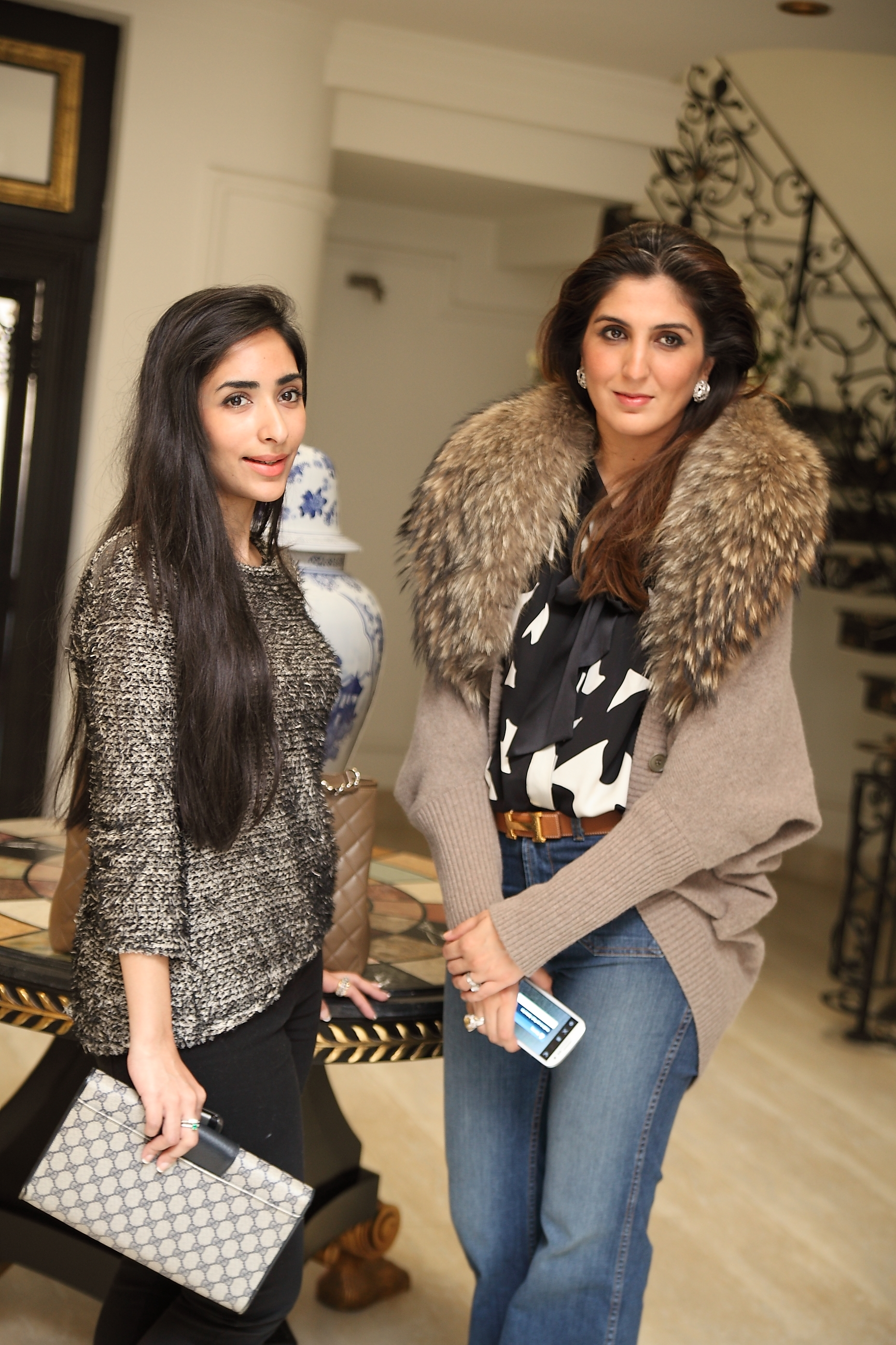 Zoe Khan and Khadijah Shah