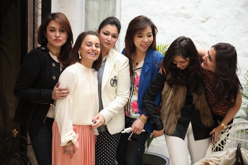 Sara Tanvir, Mehvish Khan, Shazia Deen, Jennifer Liu, Areeba Magsi and Maryam Saquib