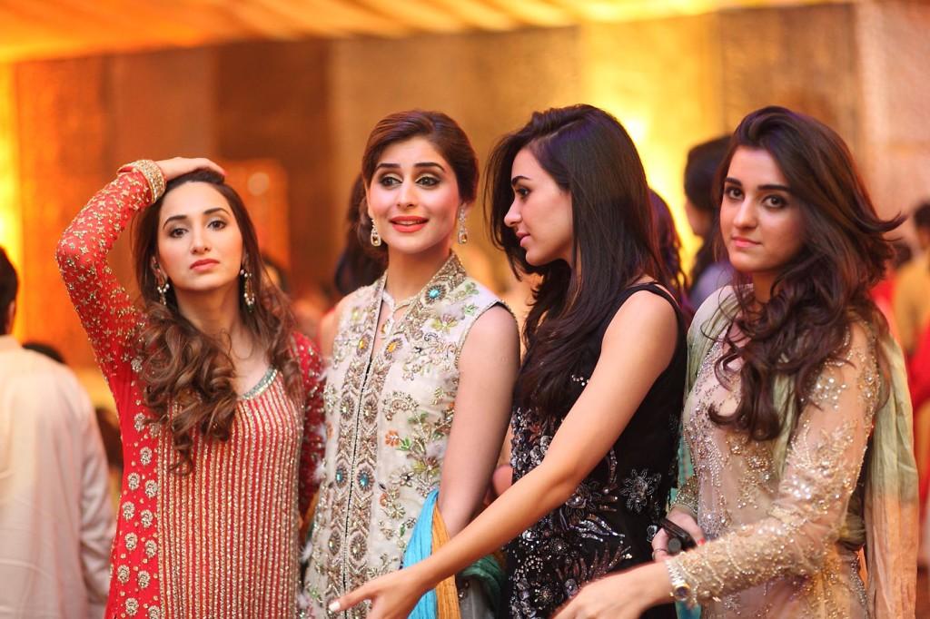 Ayesha Yousaf, Sara Waleed Mushtaq, Zainab Gardezi and Aimen Gardezi