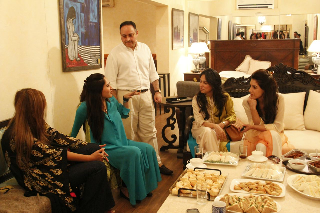 Ayesha,Sania,Zahir Maheen and Nida