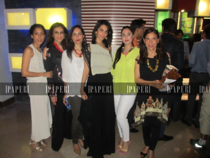 Zahra Khan, Sara Shahid, Fatima Hasan, Ayesha Noon, Abeera Ahsanuddin and Yasmin Khan