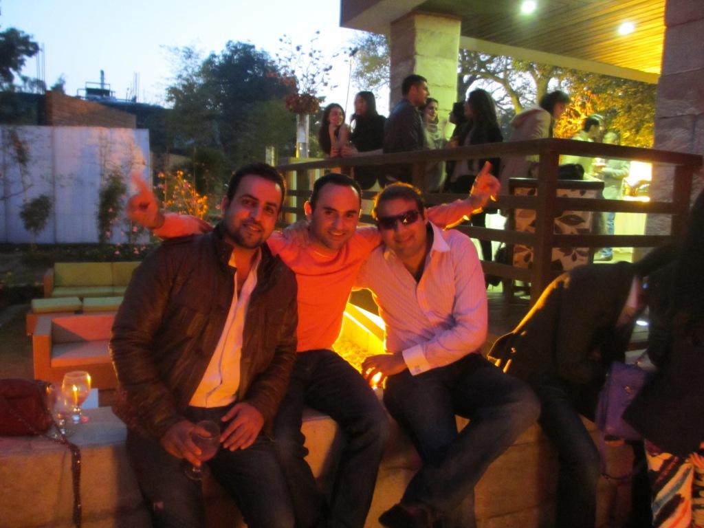 Omer Khalid, Hissam Hyder and Hamid Rashid