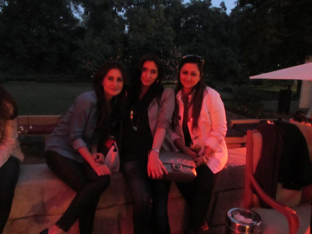 Sana Khan, Nahzat Adnan and Shareh Khalid