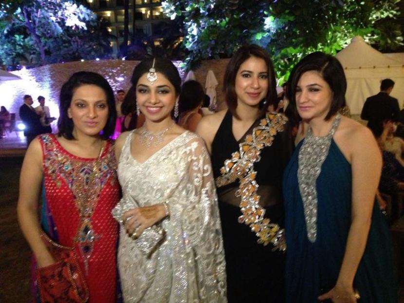 Namoos Zaheer, Kiran Chaudhry, Amina Shah and Sana Raza