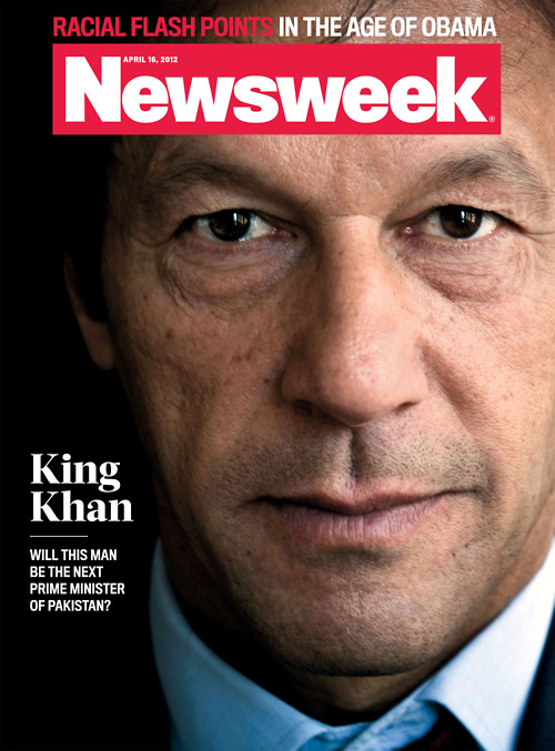 Earlier this year Khan was on the cover of Newsweek