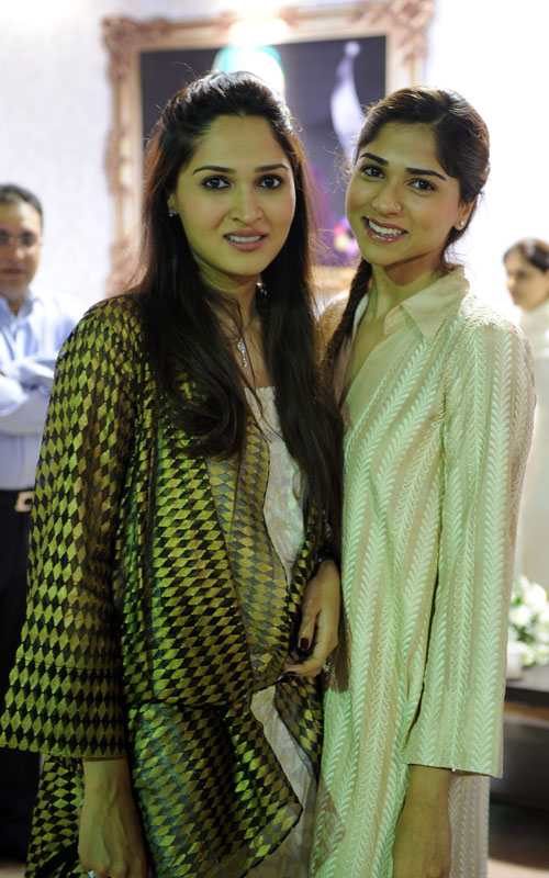 Sania Maskatiya and Sara Tabani