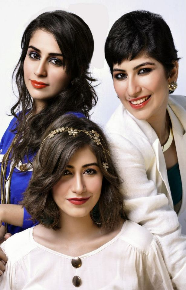 Alishba, Syra and Palwasha Yousaf