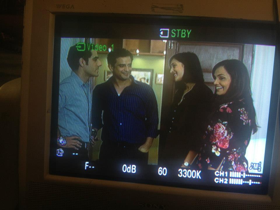 Adeel Hussain, Daniyal Raheal, Mira Sethi and Aamina Sheikh