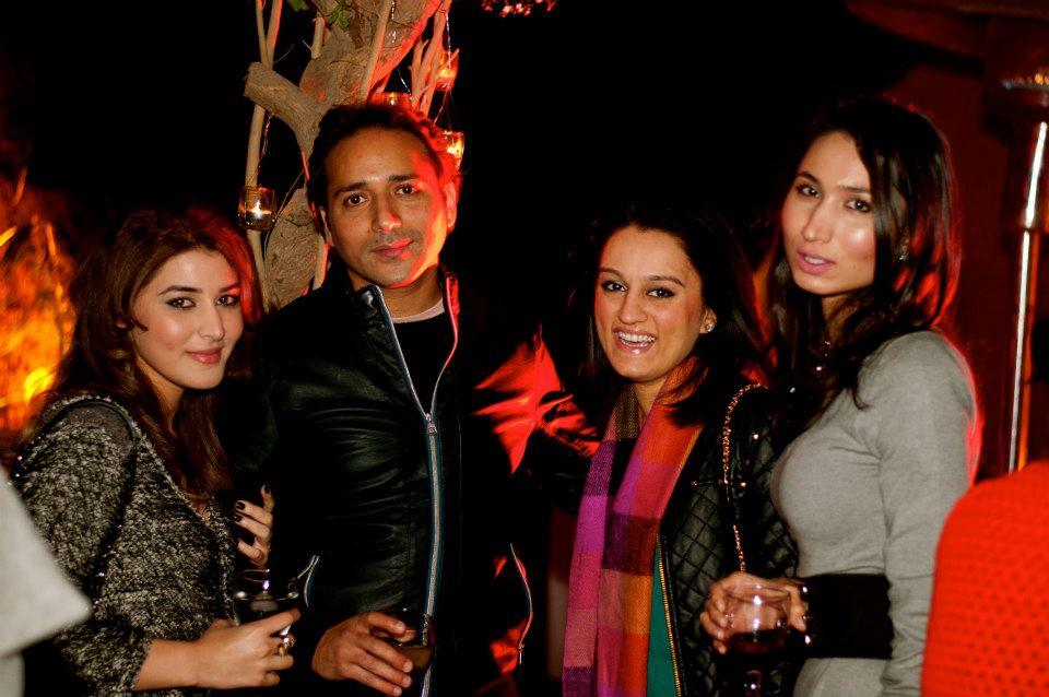 Arfah Khawaja, Yawar Salman, Arjumand Bano and Sana Shahzad