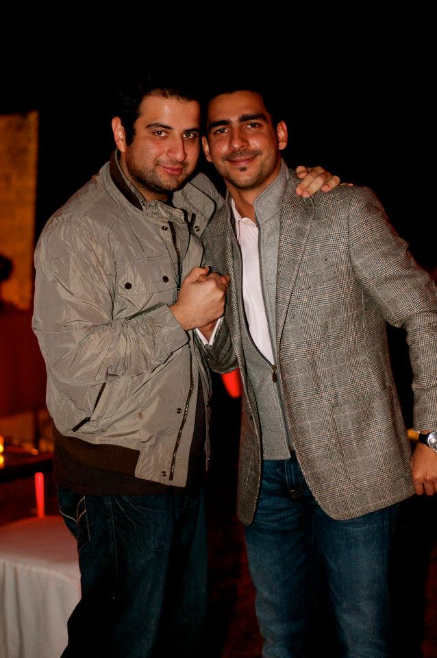 Ahsan Kamran and Mikael Khan
