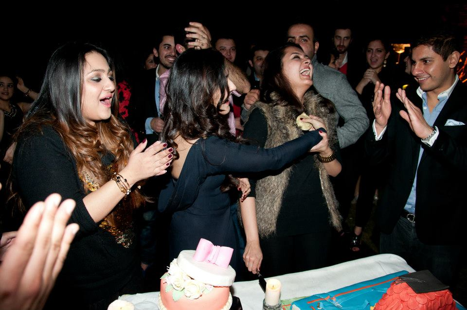 Celebrating Shazreh's birthday and Alizeh's graduation