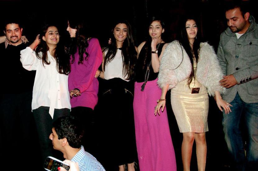 Ahmed, Maheen, Deena, Sahar,Rabia,Nadira and Omer