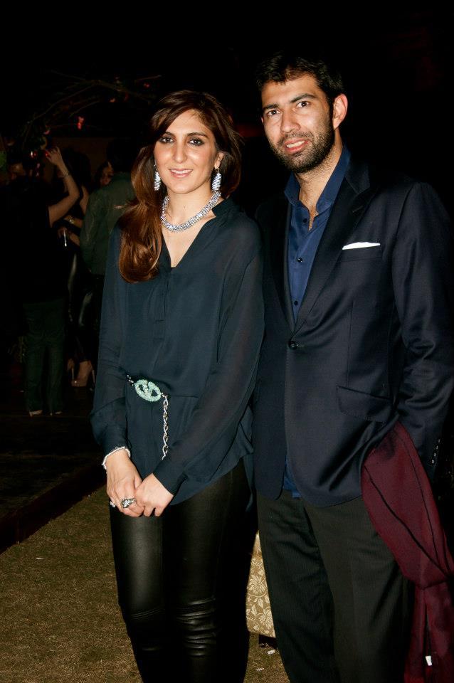 Khadijah Shah and Ahmed Wahla