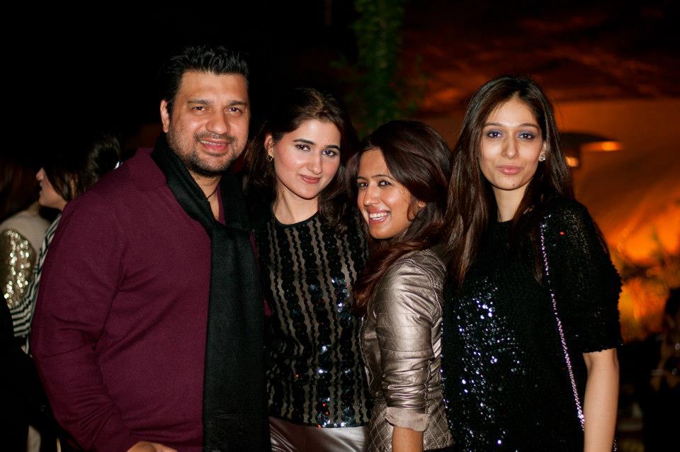 Ghalib Raazee, Marium Saquib, Sara Raazee and Areeba Magsi