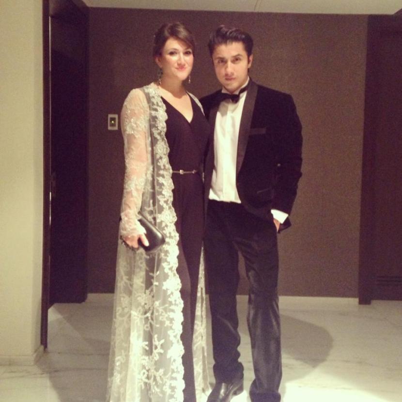 Ayesha Fazli and Ali Zafar