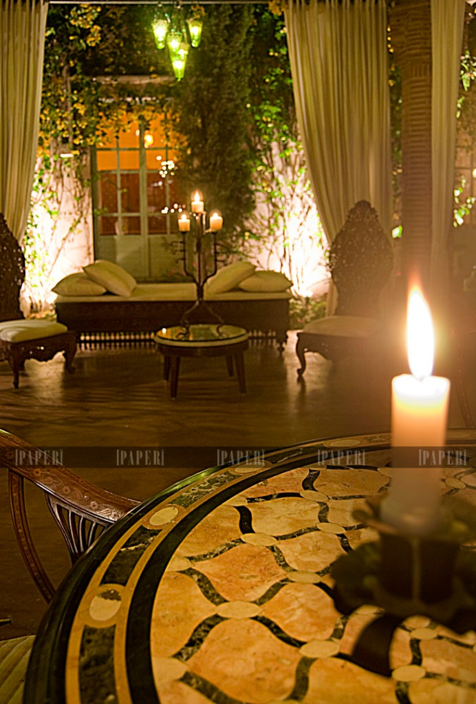 Mian ahad style on paper for Exotic retreat furniture