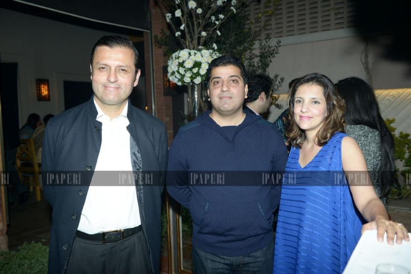 Waleed Iqbal, Mohammed Hamid and Saadia Hamid