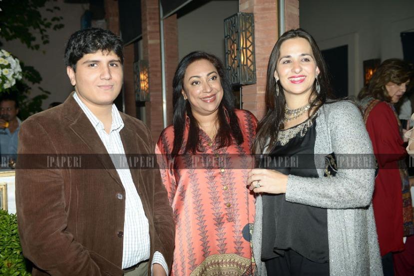 Asif Nawaz Shah, Naila Maqbool and Nuria Iqbal