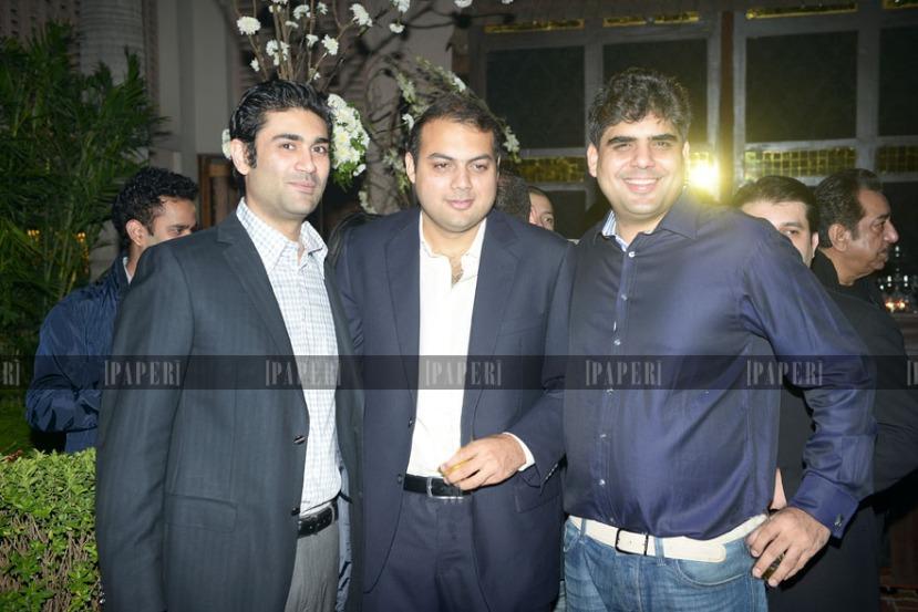 Jehanzeb Amin, Hamid Rashid and Savail Hussain