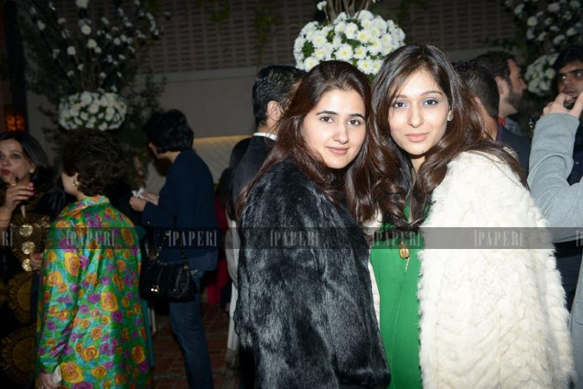 Marium Saqib and Areeba Magsi