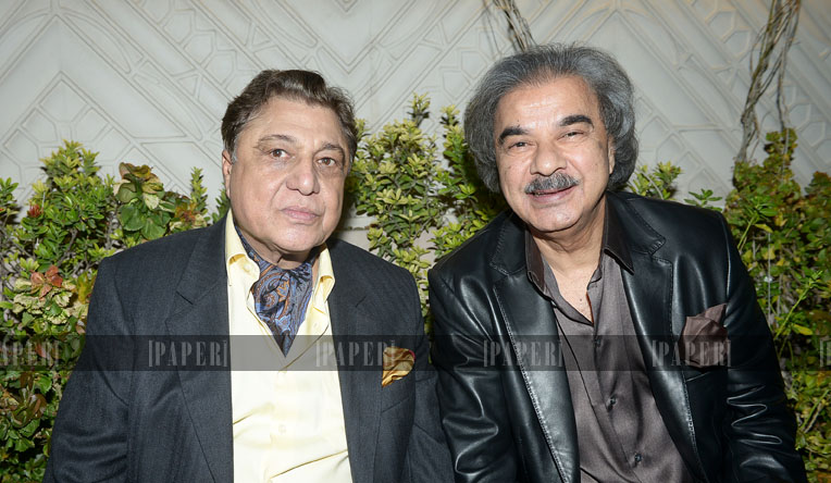 Humanyun Sheikh and Naseem Saigol