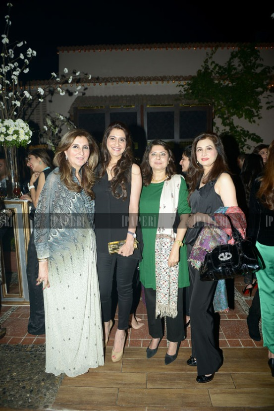 Aneela Shah, Nickie Ali, Faro Qureshi and Nina Junaid