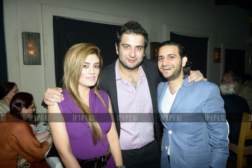 Sara Babar, Ash Kamran and Babar Shaikh