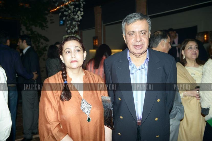 Nina and Arif Nizami