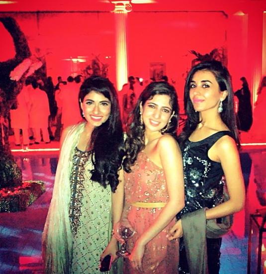 Alyzeh Rahim, Saba Pervez and Zainab Gardezi