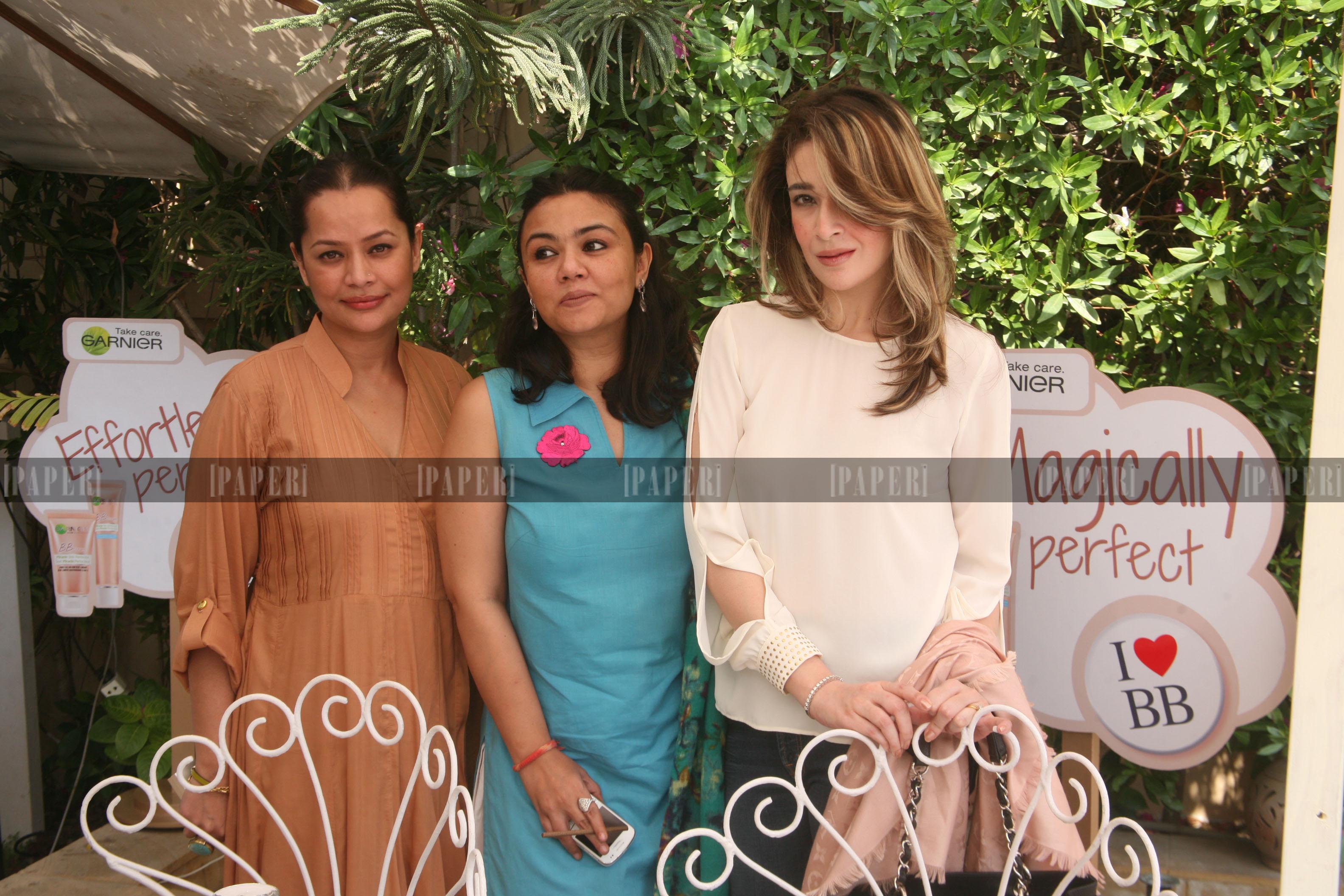 Andleeb Rana, Kiran Aman and Mariam Shams