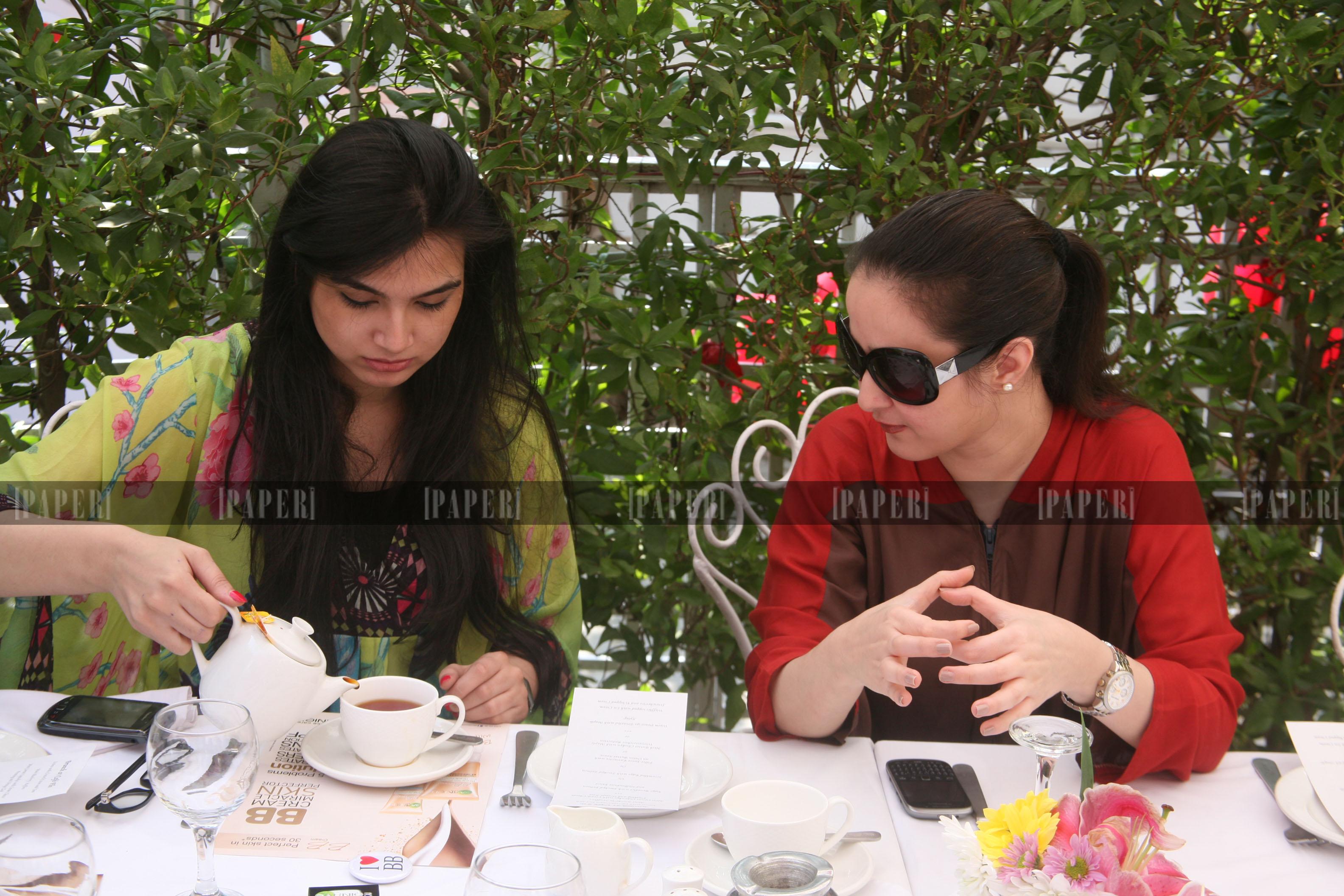 Atika Rehman and Yusra Askari