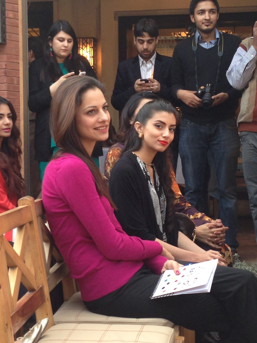Cybil Chowdhry and Zara Peerzada