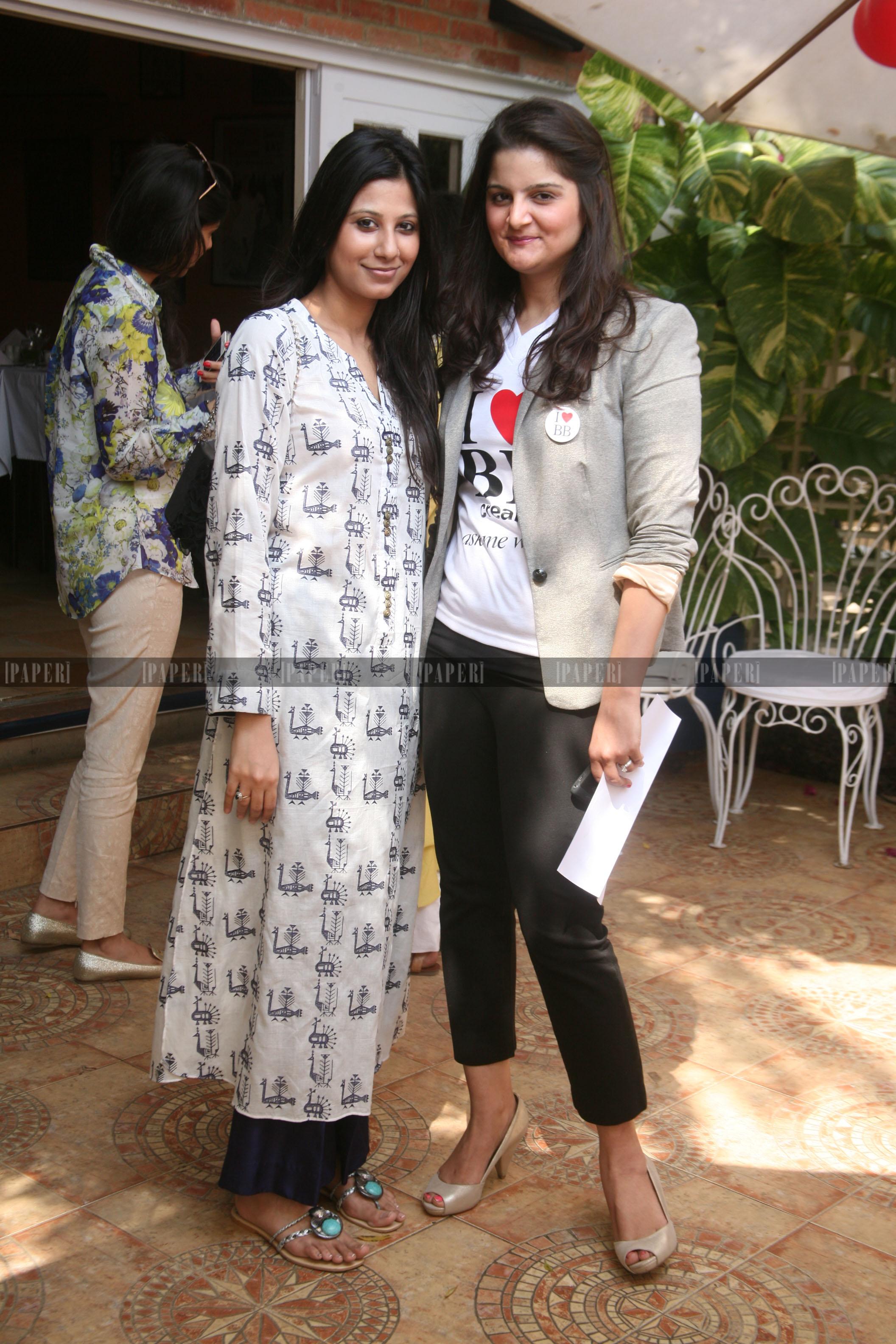 Faiza Lakhani and Zainab Pasha