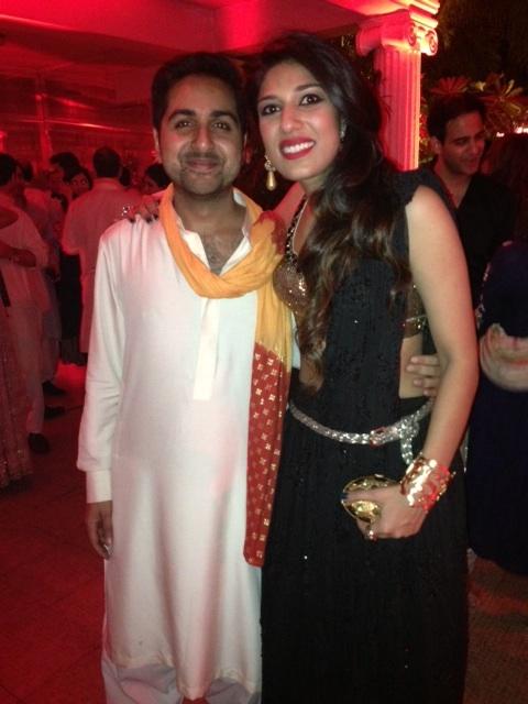 Qasim Qamar and Maira Pagganwala