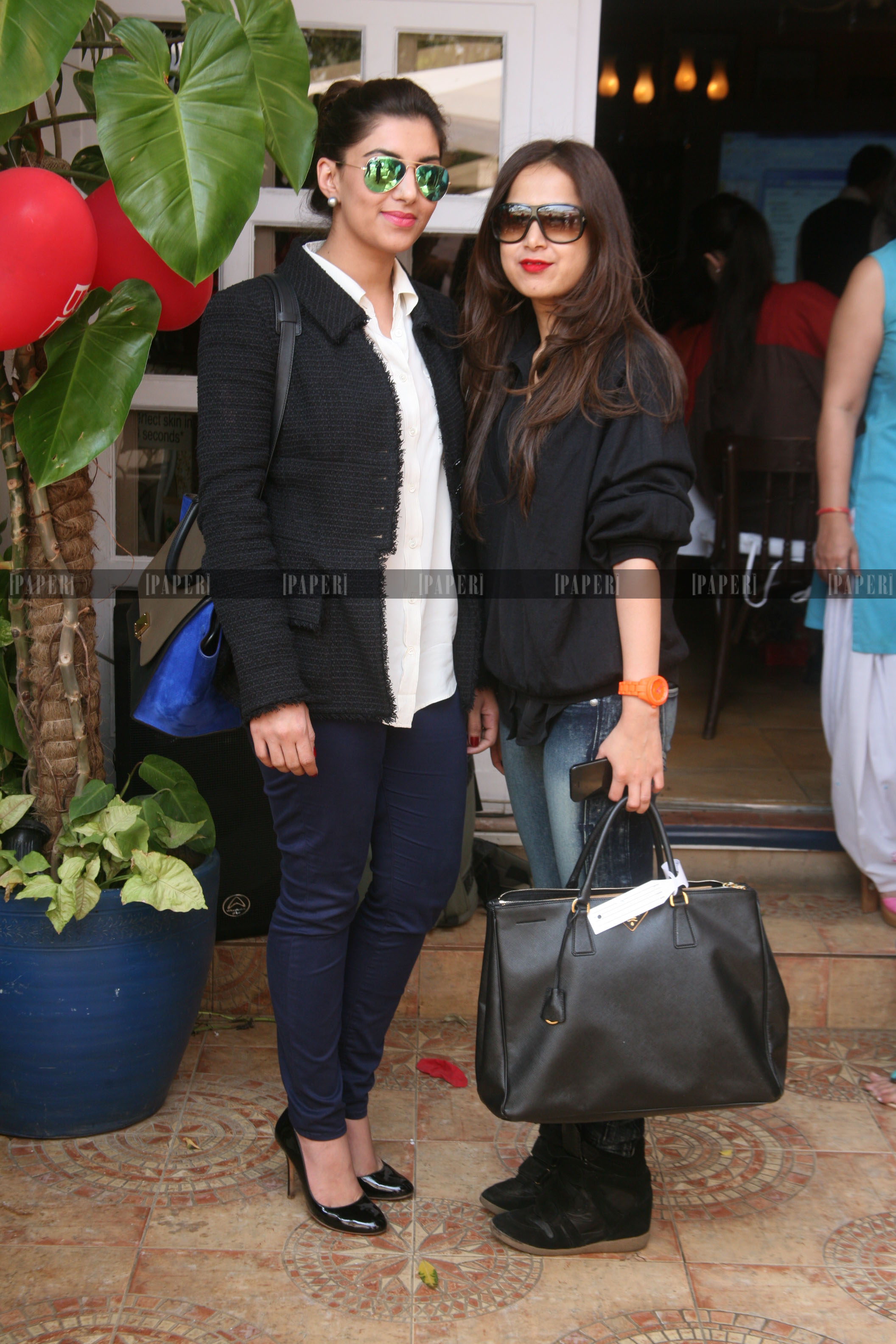 Meher Tareen and Samina Khan