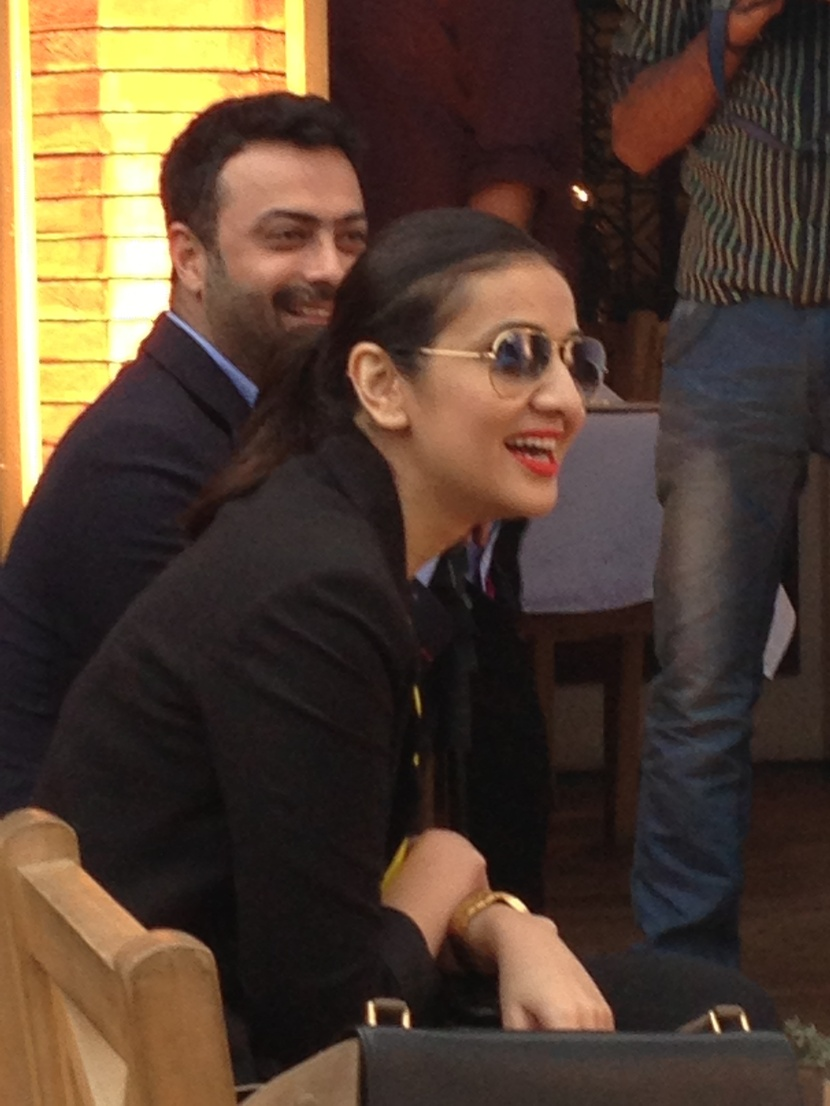Kamiar Rokni and Sara Shahid