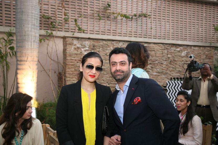 Sara Shahid and Kamiar Rokni