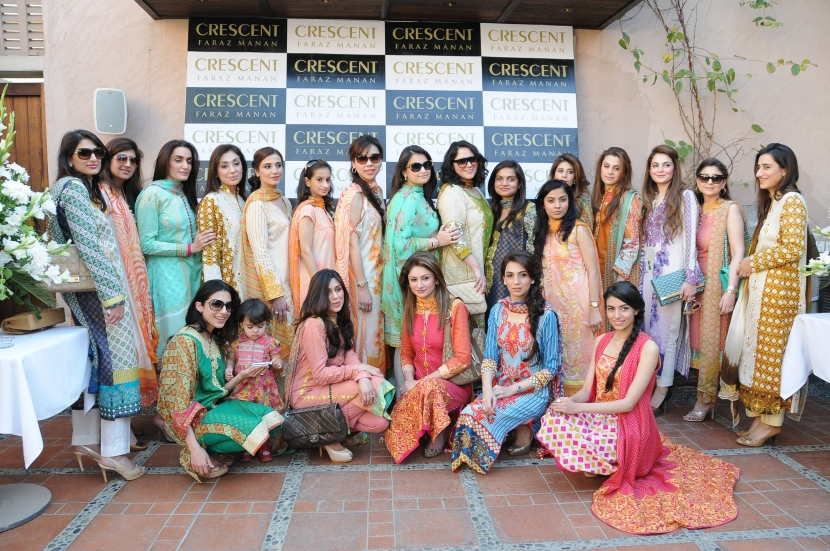 All the girls in Crescent lawn by Faraz Manan