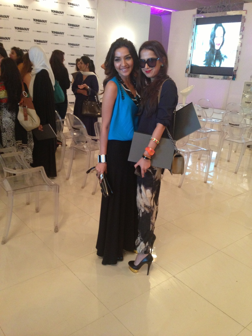 Asmaa Mumtaz and Samina Khan