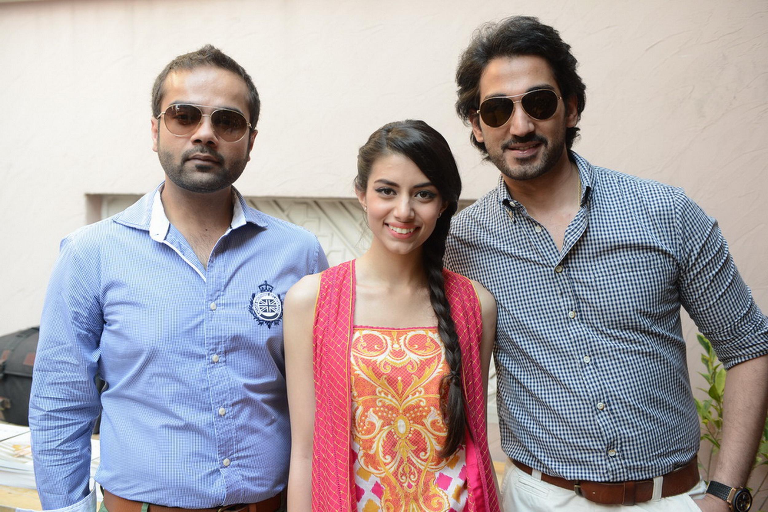 Faraz Manan, Zara Peerzada and Shoaib Shafi