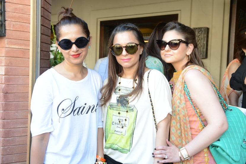 Samina Khan, Mehvish Khan and Amna Hassan