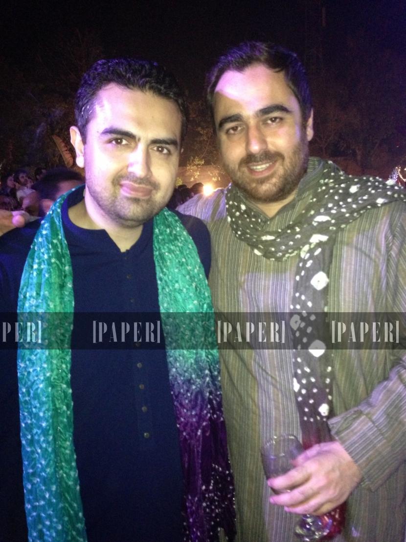 Faraz Alamgir and Saif Rehman