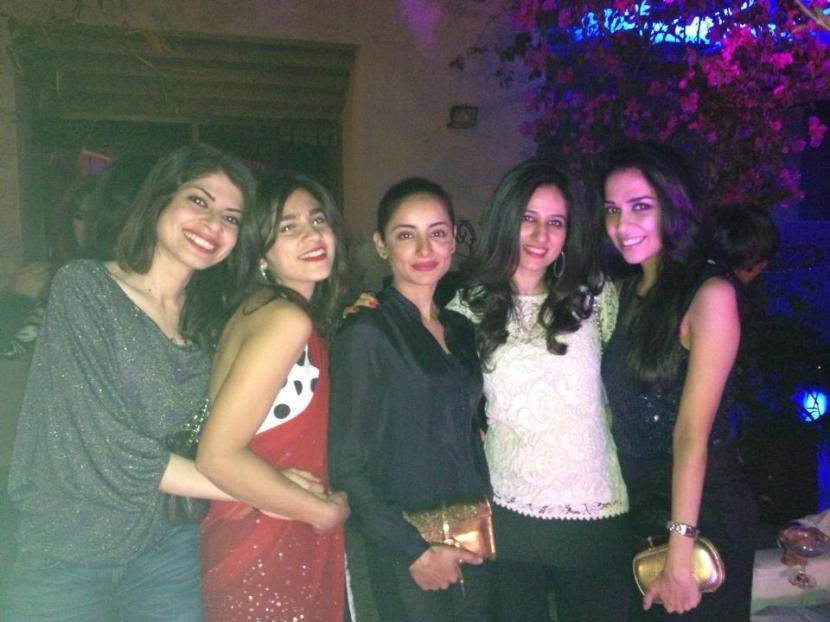 Farrah Marwat, Raana Khan, Syeda Sarwat Gilani, Haniah Omar and Maha Burney