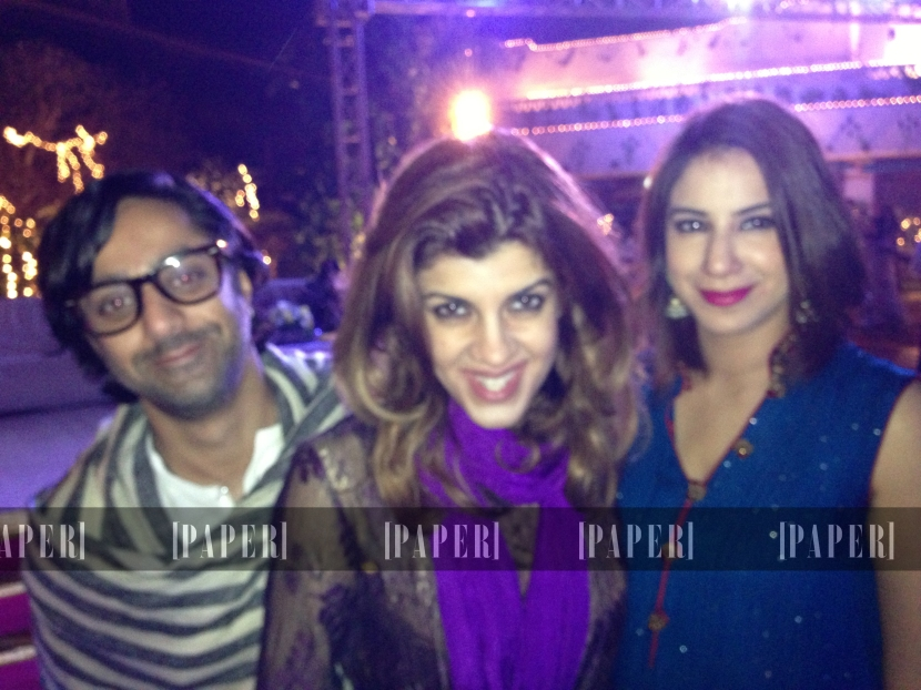Omar Jamil, Avantika Sujan and Amina Shah